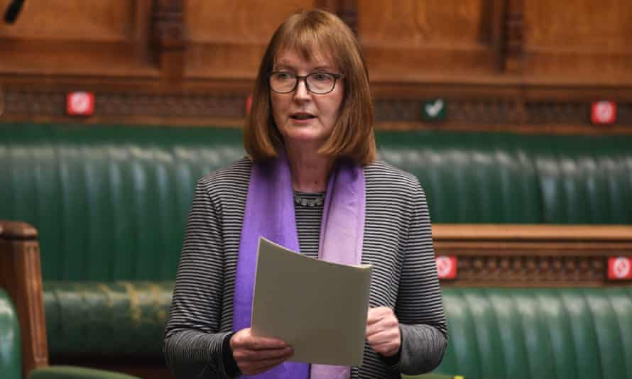 'This is a constituency issue for me' ... Harriet Harman in the House of Commons, 11 March.