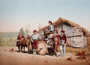 Farmers in Guria, Georgia. 1904