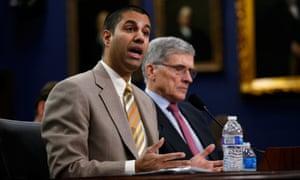 Federal Communications Commission chairman Ajit Pai will address internet regulation at a speech in Washington.