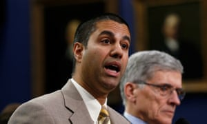 Ajit Pai has pledged to take a 'weed whacker' to internet regulations.