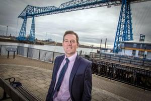 Sending a signal … Middlesbrough mayor Andy Preston.