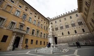 Headquarters of Monte dei Paschi di Siena.
