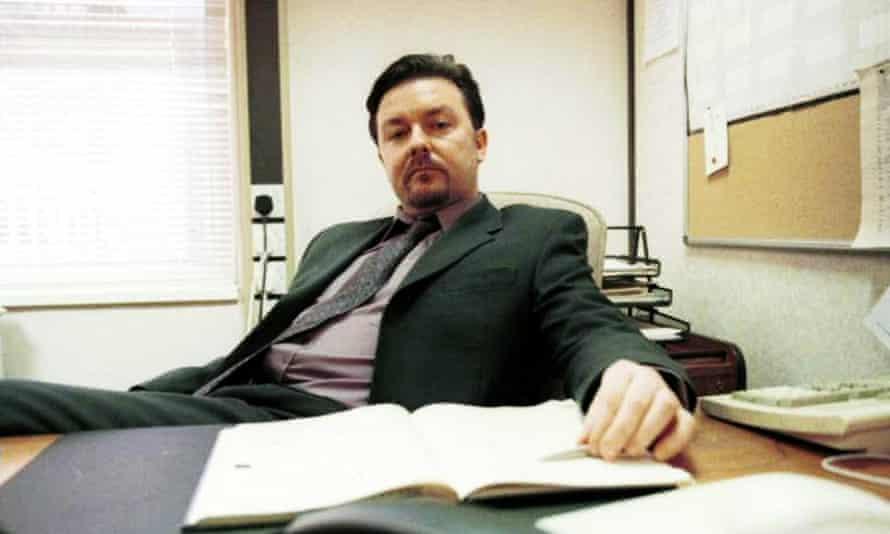 Gaffer prone ... Ricky Gervais as David Brent.