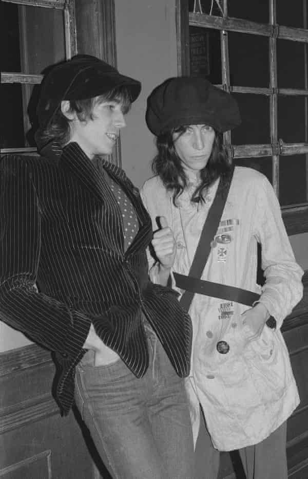 Patti Smith and Ivan Karl in 1976