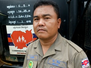Aki Ra, founder of Cambodian Self Help Demining and the Cambodia Landmine Museum.