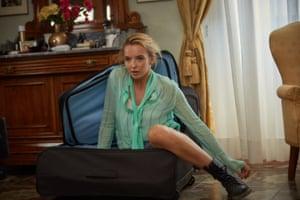 Jodie Comer as Villanelle in Killing Eve.
