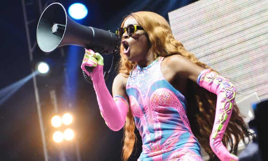 Azealia Banks: 'I think Donald trump is evil like America is evil and in order for America to keep up with itself it needs him.'