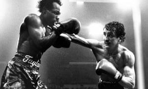 Barry McGuigan vs American Bernard Taylor - McGuigan won, 1985.