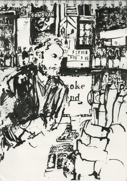 Jim at the bar