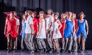 Matria Etnocentra by Danza Contemporánea de Cuba at the Barbican.