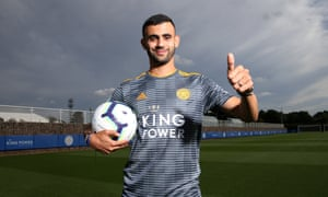 Rachid Ghezzal, who worked with Claude Puel at Lyon, is unveiled as a Leicester City player.