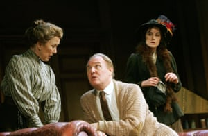 As Henry Higgins in Pygmalion