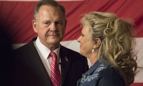 Roy Moore: a sex scandal judge with God by his side