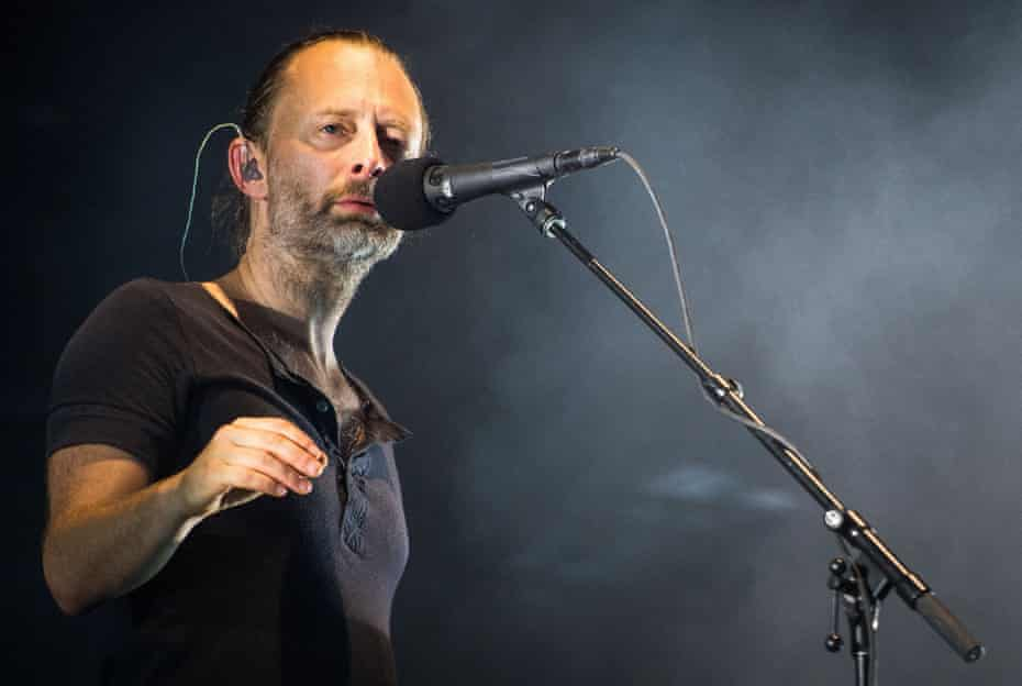 Thom Yorke performing with Radiohead – confirmed for Glastonbury 2017.