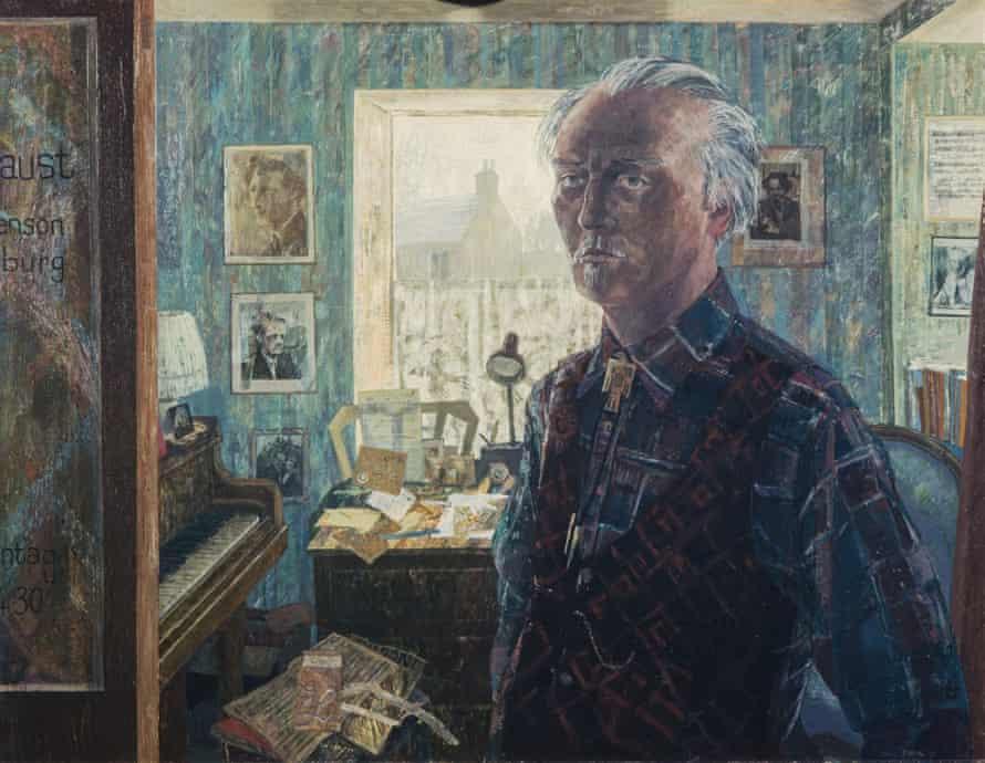 Focus on portraiture … Ronald Stevenson (1983) by Victoria Crowe.