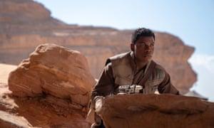 John Boyega as Finn in The Rise of Skywalker, the final Star Wars film.