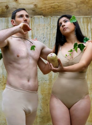 Apple of the Earth: an interpretation of the story of Adam and Eve, where the potato epitomises the fundamentals of life.