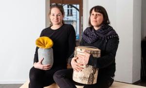 Birgit Scheffler and Sahra Ratgeber in Berlin-Kreuzberg