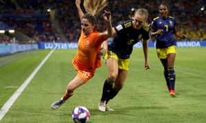 Netherlands v Sweden, Fifa Women's World Cup 2019 semi-final
