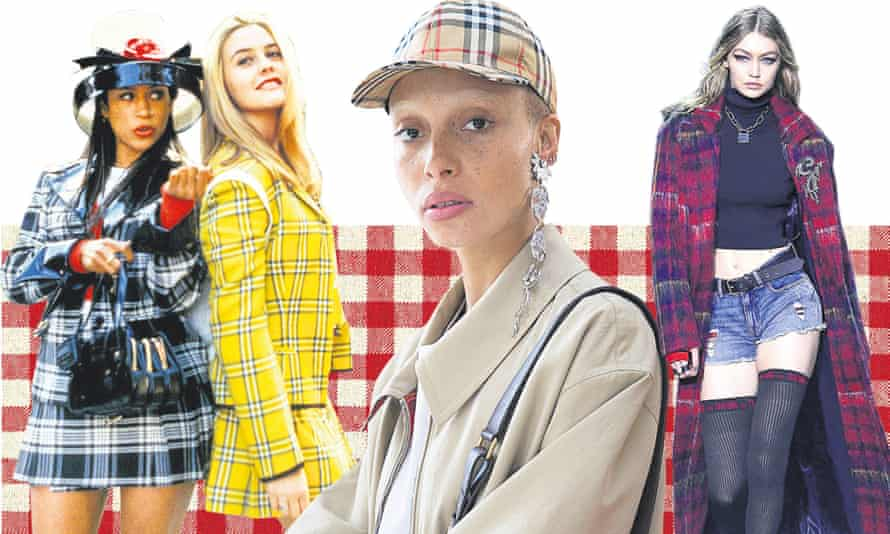 Check it: Stacey Dash and Alicia Silverstone in Clueless, Adwoa Aboah and Gigi Hadid.