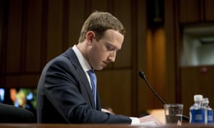 Mark Zuckerberg testifies in Congress in April. New documents published by the UK parliament shed light on internal discussions at Facebook.