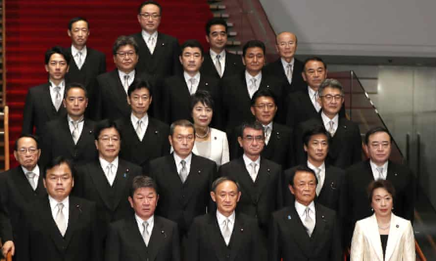 The Japanese cabinet with only two women