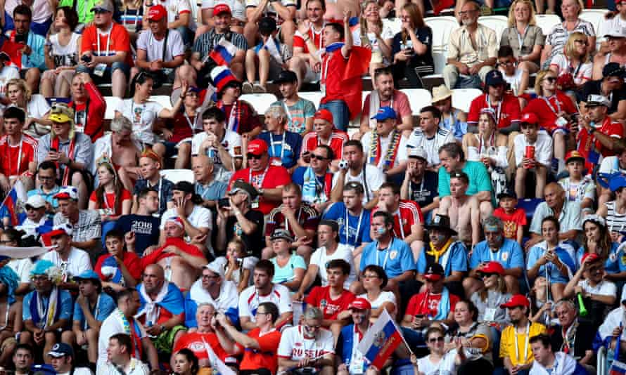 A selection of World Cup supporters not deemed to be 'sexy' by the picture agency.