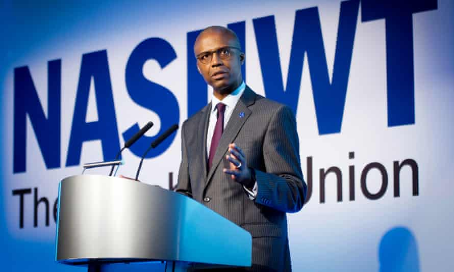 Patrick Roach of the NASUWT.