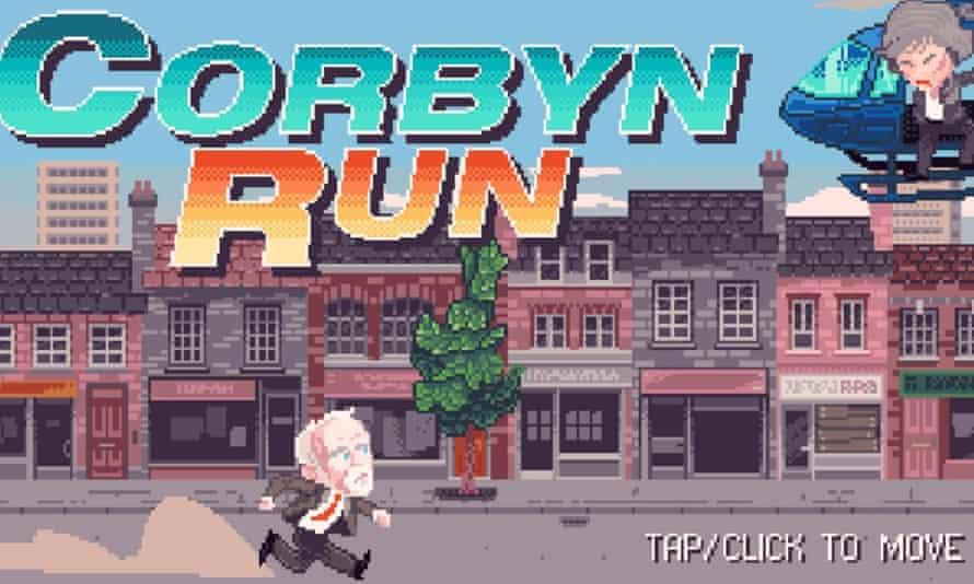 Corbyn Run … 'something fun'.