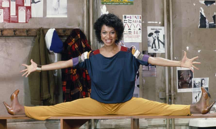 Debbie Allen as dance teacher Lydia Grant in the TV series Fame (1982).