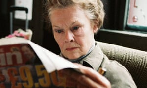 Will truth out? … Judi Dench as Barbara in the film of Notes on a Scandal.