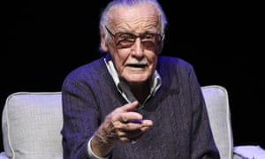 Stan Lee onstage at the Extraordinary: Stan Lee tribute event in Beverly Hills in August 2017.