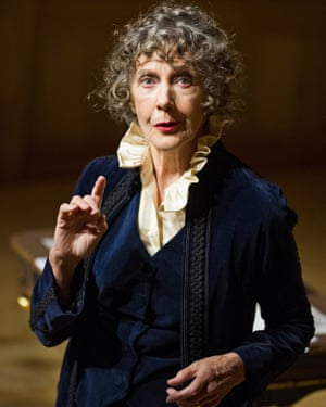 Ellen Terry With Eileen Atkins at the Sam Wanamaker Playhouse.