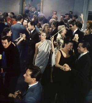 A scene from Breakfast At Tiffany's, 1961.