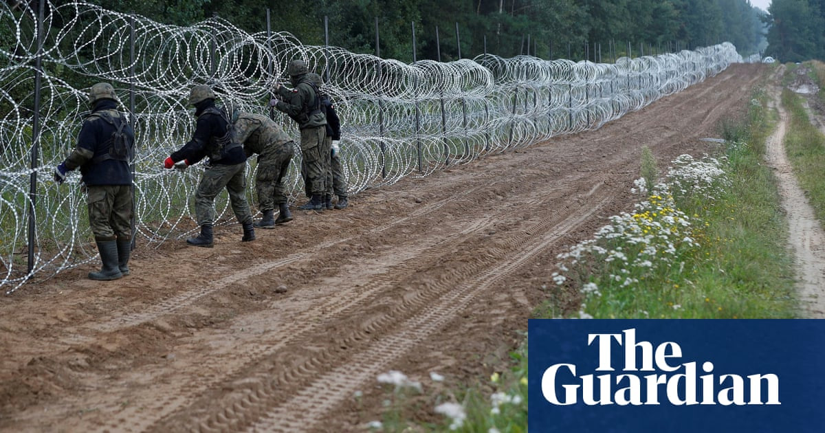 Concerns grow over Poland's treatment of migrants stuck at Belarus border