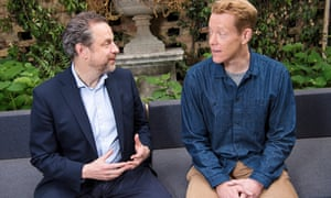 Ed Fidoe and Carl Gombrich, who is heading up the new university, the London Interdisciplinary School.