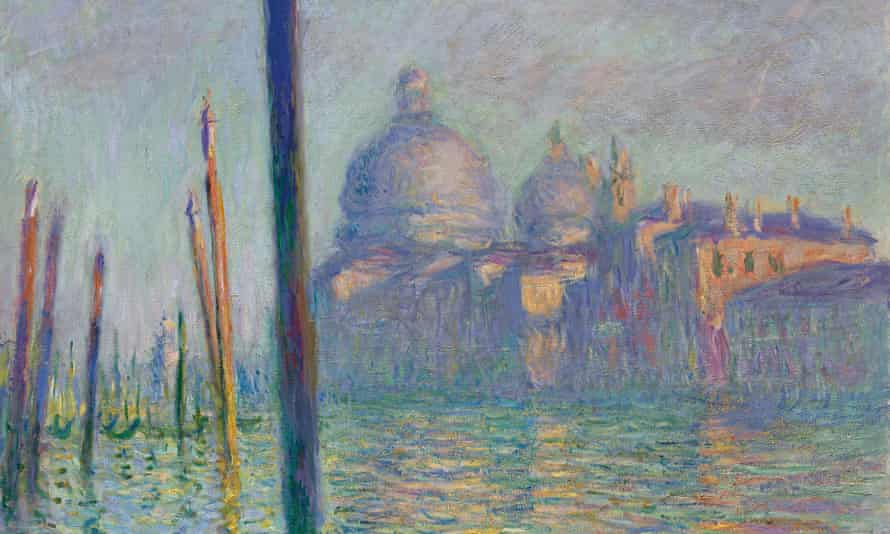 Grand Canal, Venice (1908) by Claude Monet (partial).