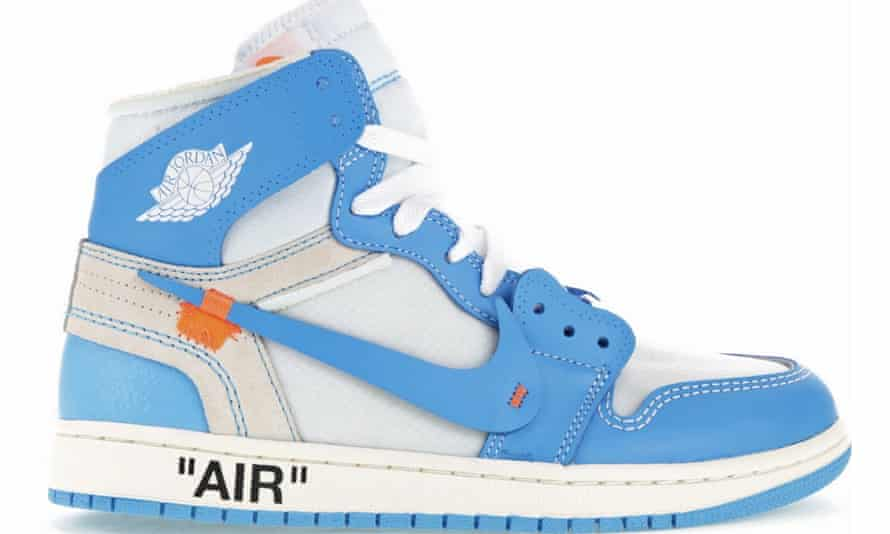 London's most-wanted trainer: the Nike Air Jordan 1 x Off-White in 'North Carolina' colours