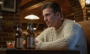 'The sweater everyone's talking about': Evans in Knives Out.