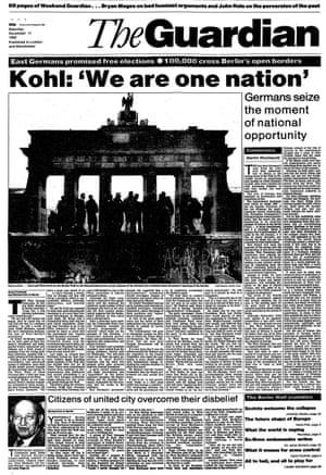 The Guardian, 11 November 1989.
