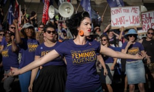 In 2017 Melbourne International Women's Day Rally kicked off with a choreographed dance to Destiny Child's Survivor