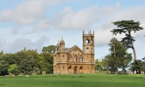 The Gothic Temple, Stowe, Buckinghamshire