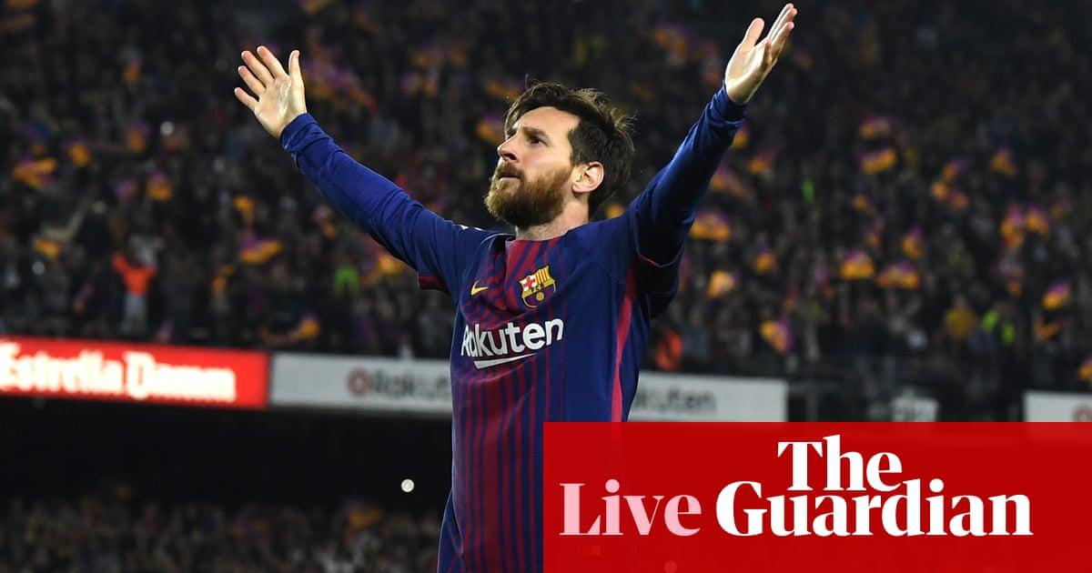 0abc1c45d Barcelona 2-2 Real Madrid  La Liga – as it happened