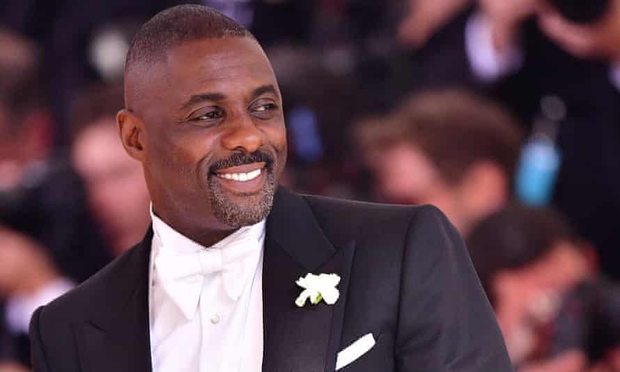 Idris Elba at the Met Ball, 2016
