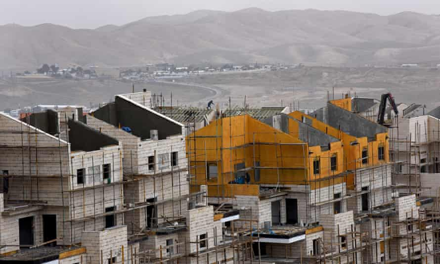 A new Jewish settlement on the West Bank