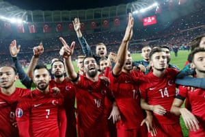 Turkey qualify automatically after a late winner.