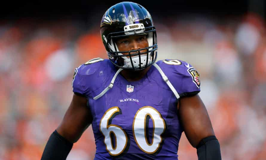 Eugene Monroe of the Baltimore Ravens became the first active player to openly call for the use of cannabinoids to treat chronic pain and sports injuries.