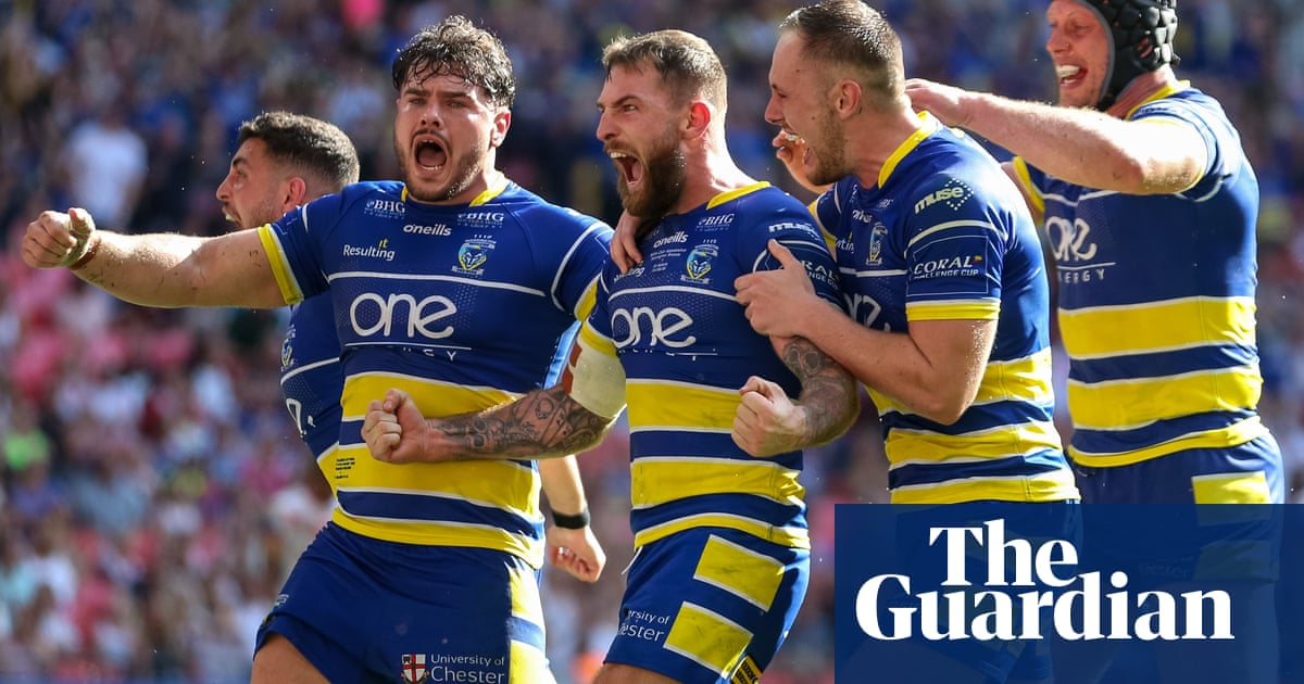 The Challenge Cup final had it all: glee, gloom, globalism ... and gross ads