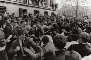 A photograph of the student protests from a Time to Stir