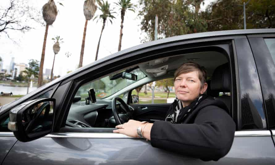 'There is no reason this job should be the fastest growing low-wage job in America,' said Nicole Moore, who currently drives for Lyft.